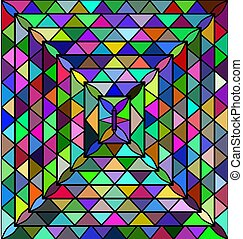 colored background triangles - abstract colored background...