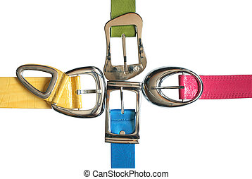 Colored Belts Set