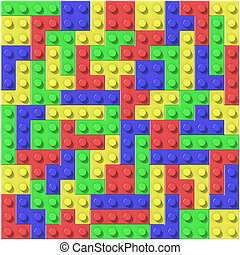 Colored blocks