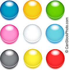 Colored buttons