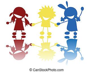 Colored children