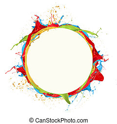 Colored circle