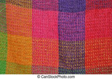 Colored cloth