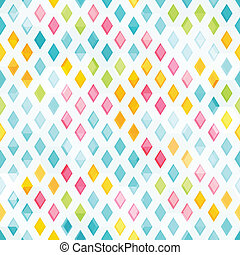 colored diamond seamless pattern