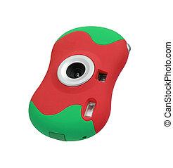 colored digital camera