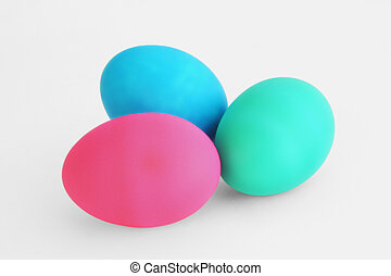 Colored Eggs - Colored Easter Eggs