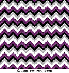 Colored ethnic elements with purple tones