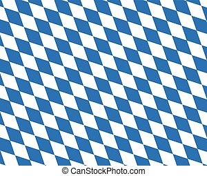 Colored flag of Bavaria