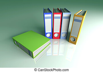 Colored Folders