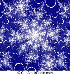 Colored fractal background