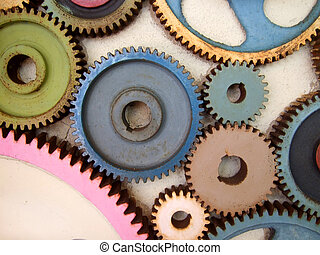 colored gears
