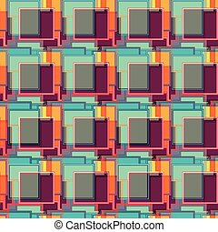 colored geometric seamless pattern for your design