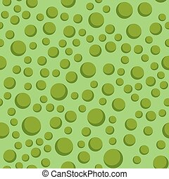 Colored green circle seamless pattern shape art geometric...