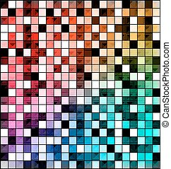 colored image of abstract blocks - abstract colored...