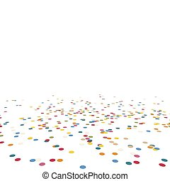 lying confetti - colored lying confetti background for...