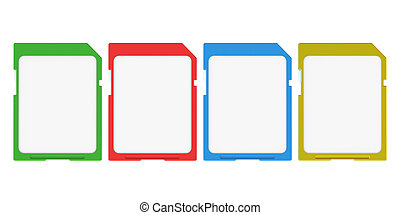 colored memory cards