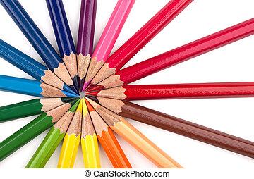 Colored pencils 2