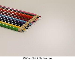 Colored Pencils Upper Left Corner 2