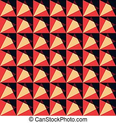 colored polygons in a retro style. abstract geometric background. vector illustration