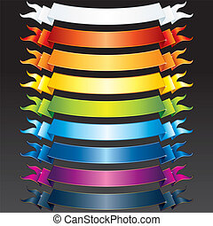 Colored Ribbons