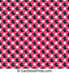 colored seamless pattern on a pink background