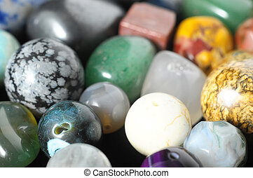 Colored Semi Precious Stones ready to make Handmade Jewelry