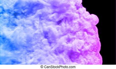 Colored smoke HD