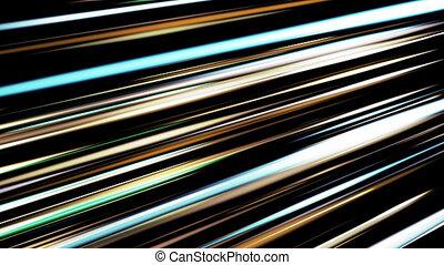 colored strips of diagonal floating. seamless loop.HD