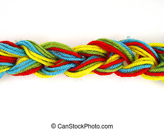 colored thread