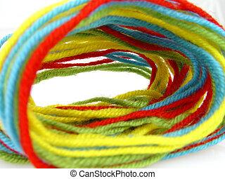 colored thread