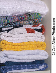 colored towels 2