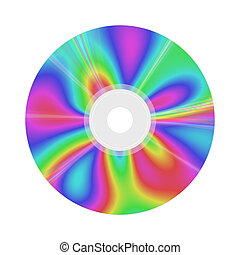 colores, agradable, rom, cd