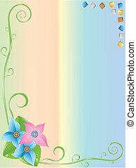 colores, armazón, figuras, ramas, geométrico