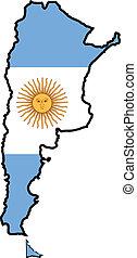 colores, de, argentina