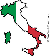 colores, de, italia
