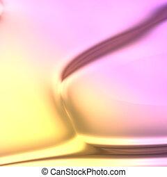 colores, líquido, fluir