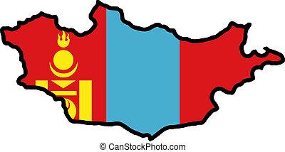 colores, mongolia