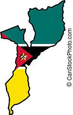 colores, mozambique