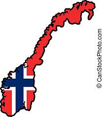 colores, noruega