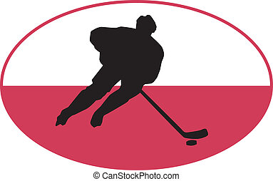 colores, polonia, hockey