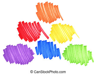 colores, primario, secundario