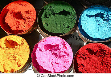 colores, seis