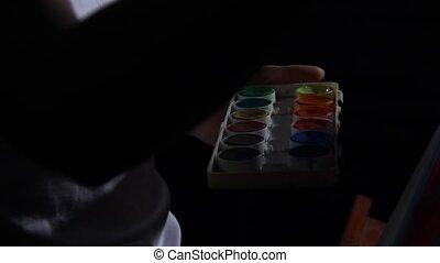 colorez palette, peinture