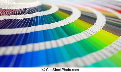 colorez palette, rotation