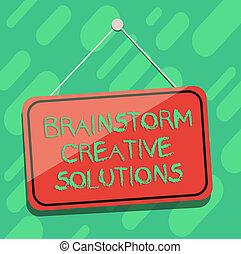 colorez photo, vide, signage, créatif, discussion groupe, écriture, intensif, fenêtre, pendre, idée génie, porte, ficelle, business, projection, main, conceptuel, indépendant, tack., solutions., showcasing