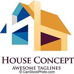 colorfu house concept - House Design Concept Colorful...