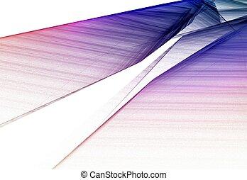 Colorful 3D rendered fractal