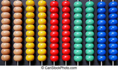 Colorful Abacus for Math Counting Learning