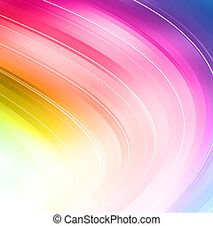 Colorful Abstract Art Background