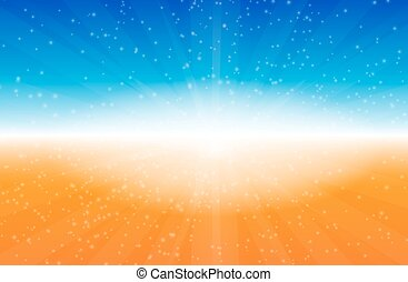 Colorful Abstract Art Background. Vector Illustration